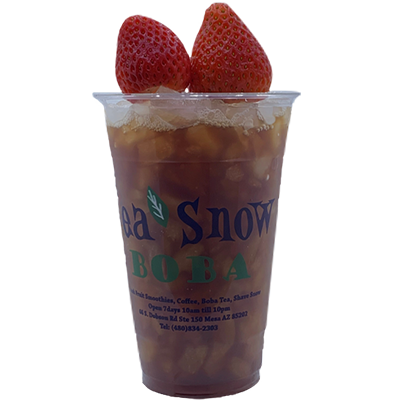 41. Strawberry Black Tea