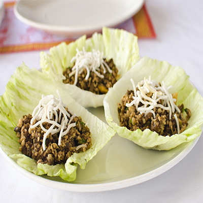 Chicken Lettuce Wrap (3)