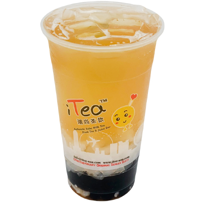 D7 Litchi Fruit Green Tea