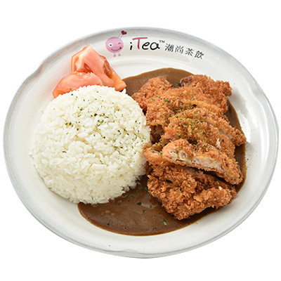 Y31A Japanese Curry Chicken Katsu with Rice