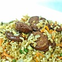 Portuguese Sausage Fried Rice