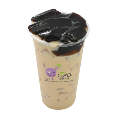 B3 Milk Tea with Grass Jelly