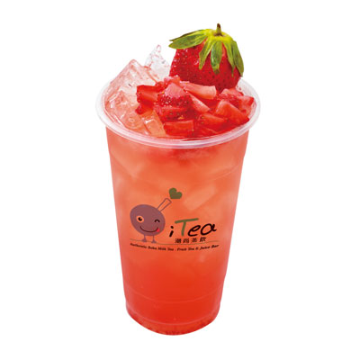 D12 Strawberry Fruit Tea