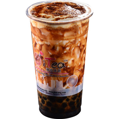 P4 Brown Sugar Boba Latte