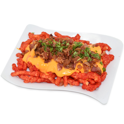 Y11 Hot Cheetos Bacon & Cheese Fries
