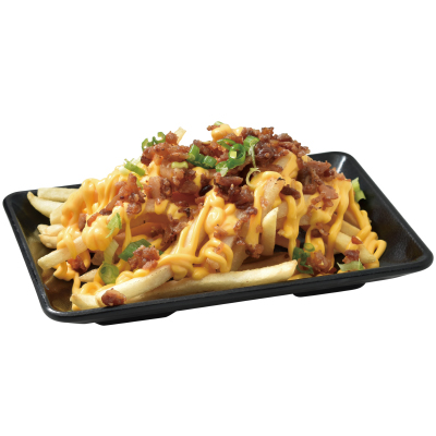 Y19 Cheese Fries with Bacon