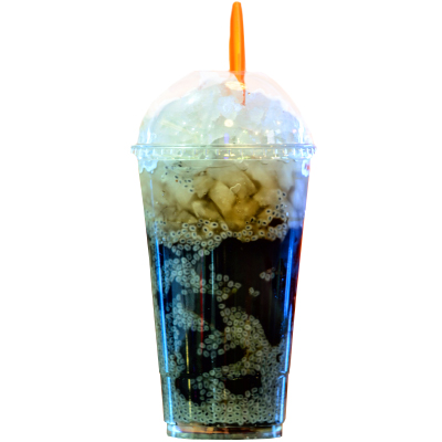 2. Basil Seed Grass Jelly (24 OZ)