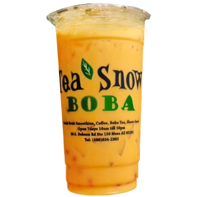 26. Mango Milk Tea