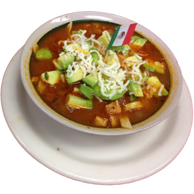 Chicken Tortilla Soup Large