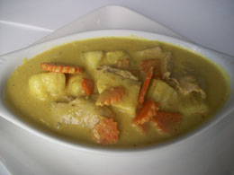 16. Yellow Curry