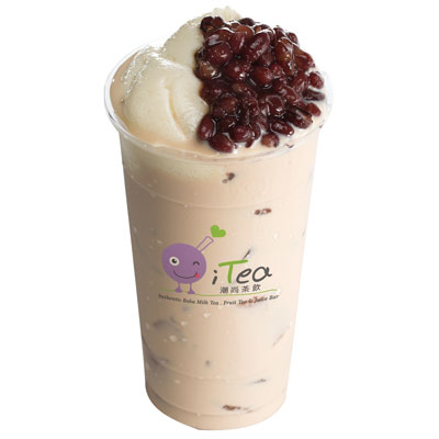 B4 Milk Tea Tofuhua & Red Bean