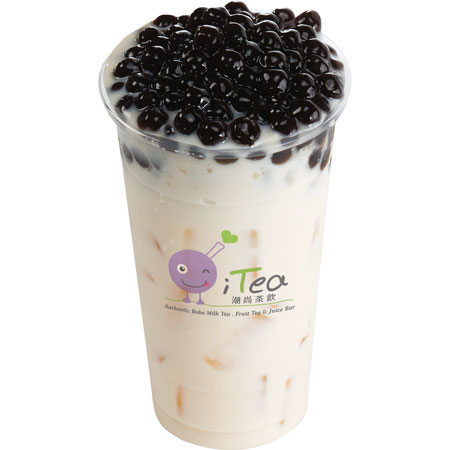 B7 Jasmine Green Milk Tea