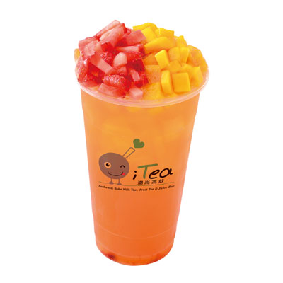 N9 Strawberry & Mango Fruit Tea